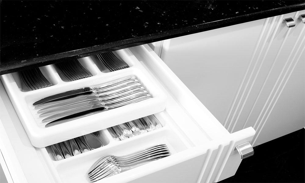 modern drawer inserts