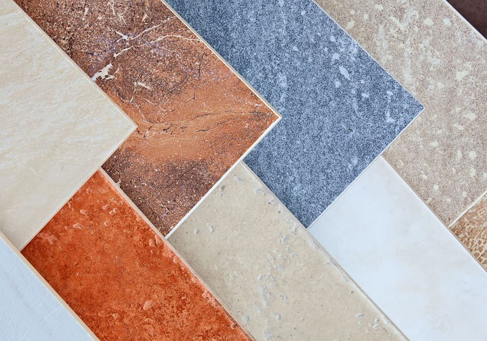 porcelain tiles selection