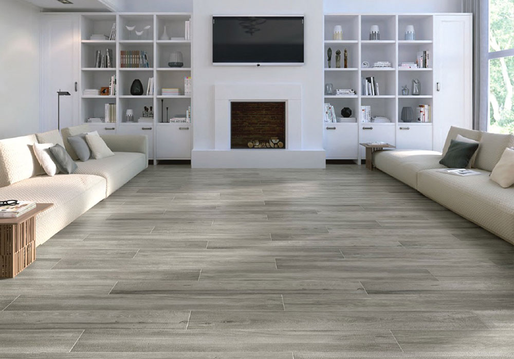 porcelain tiles indoors
